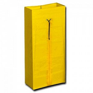 Yellow 120L PVC Bag with Zip