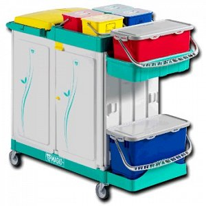 Magic Safety 720s Healthcare Mopping Trolley