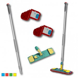 Colour-Coded Professional Wet Mopping Kit