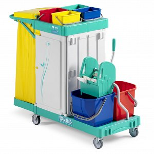 Magic Line 350 Safety Mopping Trolley